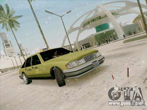 HD Taxi SA from GTA 3 for GTA San Andreas left view