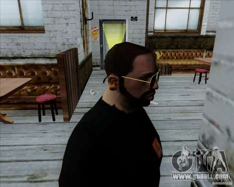 Aviator Glasses for GTA San Andreas second screenshot
