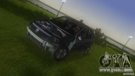 Dacia Logan for GTA Vice City upper view
