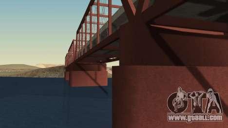 The new bridge of LS-LV for GTA San Andreas second screenshot