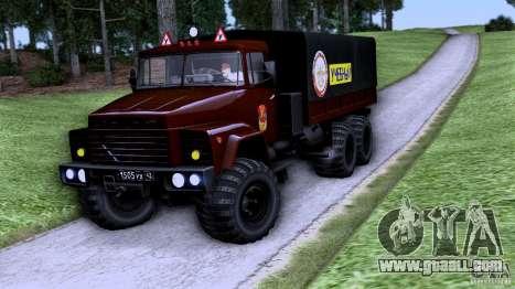 TRUCK Driving School for GTA San Andreas