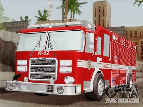 Pierce Contender LAFD Rescue 42 for GTA San Andreas