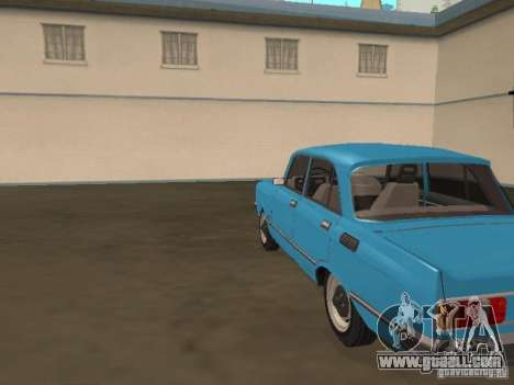 Moskvich 2140 SL for GTA San Andreas back left view