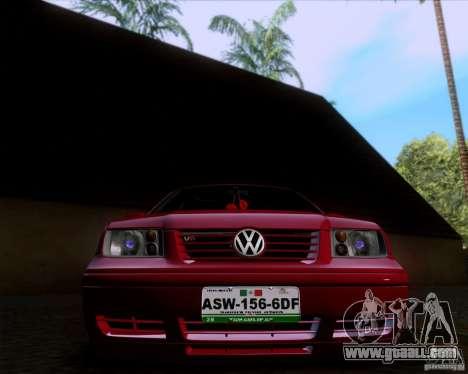 Volkswagen Jetta 2005 for GTA San Andreas back view