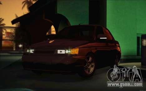 VAZ 2110 Drain for GTA San Andreas inner view