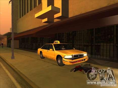 Blood drive v2 for GTA San Andreas
