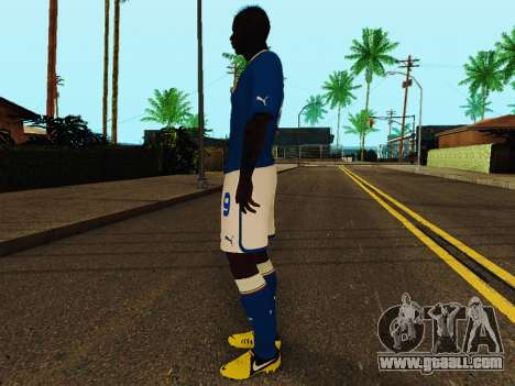 Mario Balotelli v4 for GTA San Andreas third screenshot