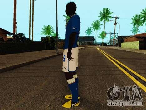 Mario Balotelli v4 for GTA San Andreas third screenshot