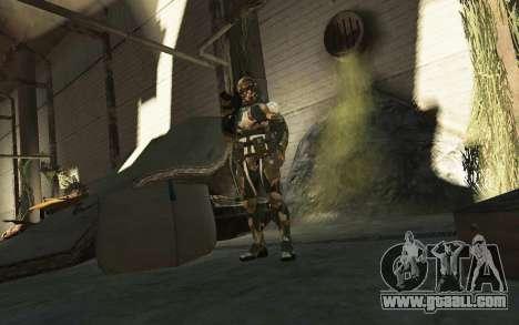 Crysis 3 The Hunter skin for GTA 4 fifth screenshot