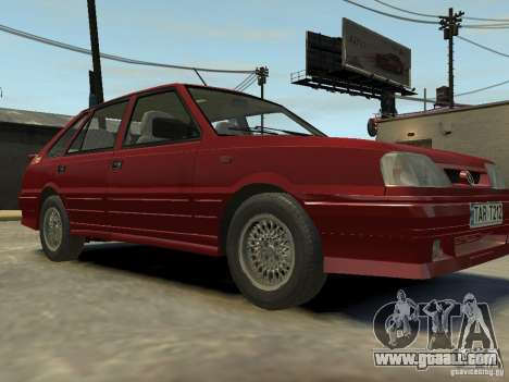 FSO Polonez Caro for GTA 4 back view