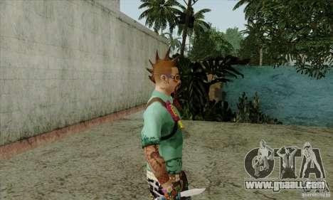 Skin substitute Fam1 for GTA San Andreas forth screenshot