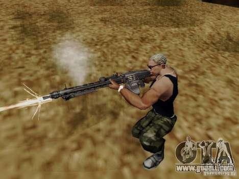 The MG-42 machine gun for GTA San Andreas third screenshot