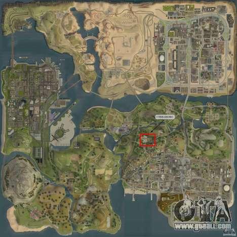 Village Stepanovo for GTA San Andreas fifth screenshot
