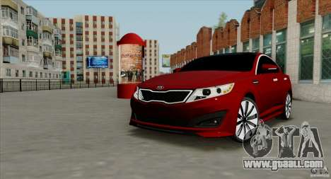 KIA Optima for GTA San Andreas