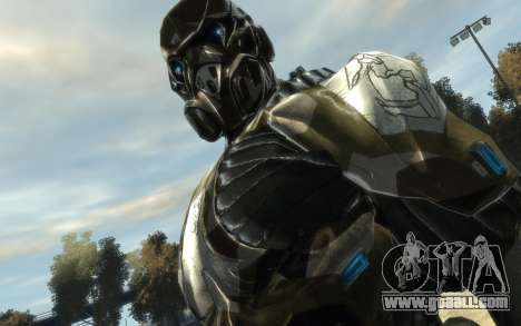 Crysis 3 The Hunter skin for GTA 4