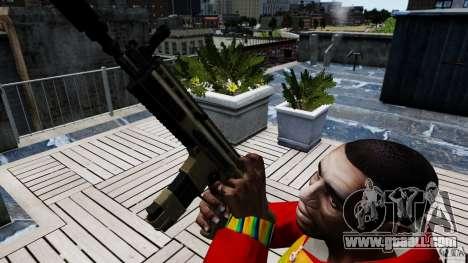 SCAR-L for GTA 4 third screenshot