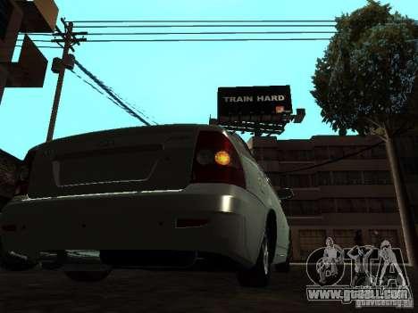 Lada 2170 Priora for GTA San Andreas right view