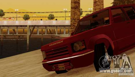 Huntley Freelander for GTA San Andreas bottom view
