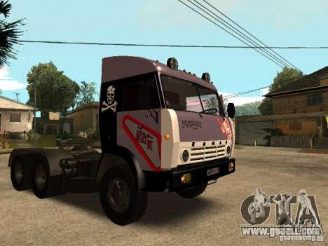 KAMAZ 5410 for GTA San Andreas bottom view
