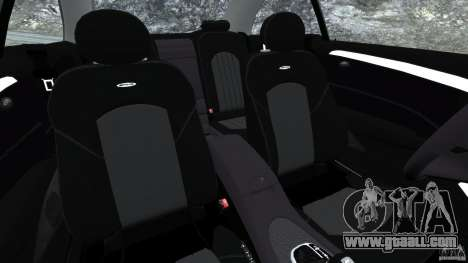 Mercedes-Benz CLK 63 AMG for GTA 4 inner view