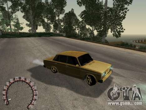 VAZ 2105 Gold for GTA San Andreas right view