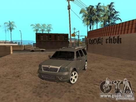 Lincoln Navigator 2004 for GTA San Andreas