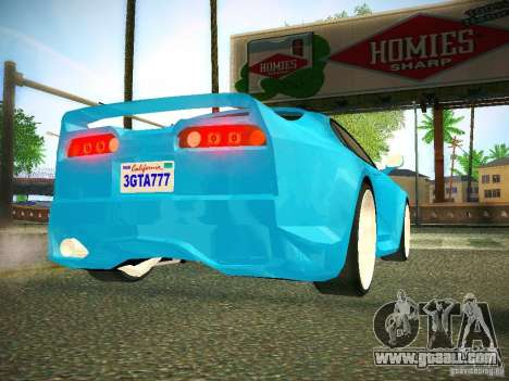 Toyota Supra VeilSide Fortune 2003 for GTA San Andreas back view