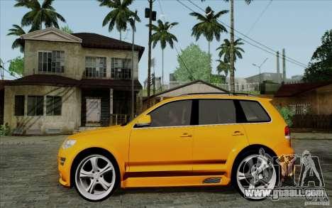 Volkswagen Touareg R50 Light for GTA San Andreas left view