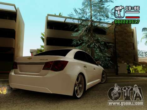 Chevrolet Cruze for GTA San Andreas left view