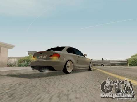 BMW 135i for GTA San Andreas right view