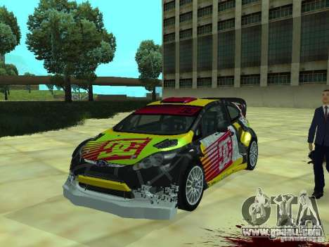 Ford Fiesta H.F.H.V. Ken Block Gymkhana 5 for GTA San Andreas