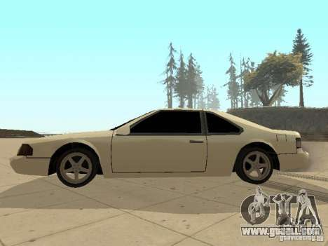 Fortune by Foresto_O for GTA San Andreas left view