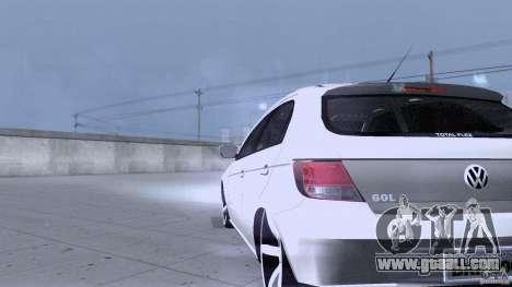 Volkswagen Golf G5 for GTA San Andreas inner view
