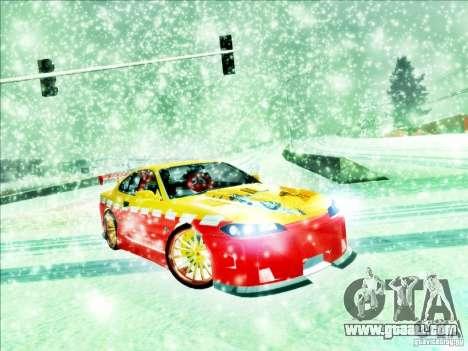 Nissan Silvia S15 Calibri-Ace for GTA San Andreas left view