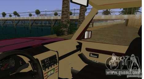 Huntley Freelander for GTA San Andreas inner view