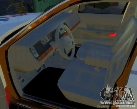 Ford Crown Victoria for FlyUS Car for GTA 4 left view