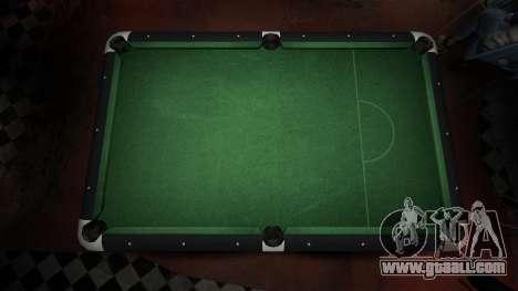 Superior billiard table in the bar 8 balls for GTA 4 second screenshot