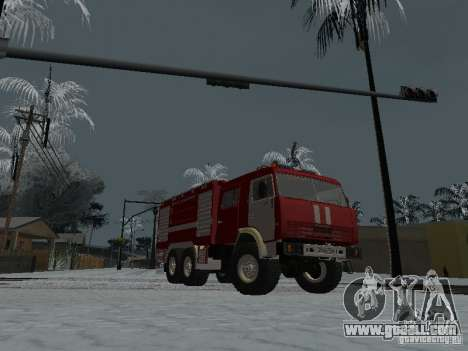 KAMAZ 43118 AC-7 for GTA San Andreas right view