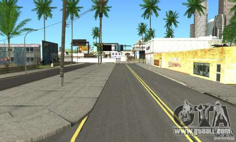 Real HQ Roads for GTA San Andreas forth screenshot