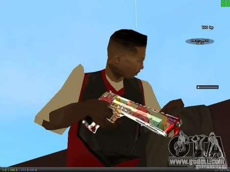 Graffiti Gun Pack for GTA San Andreas eighth screenshot