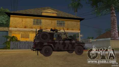 Land Rover WMIK for GTA San Andreas right view
