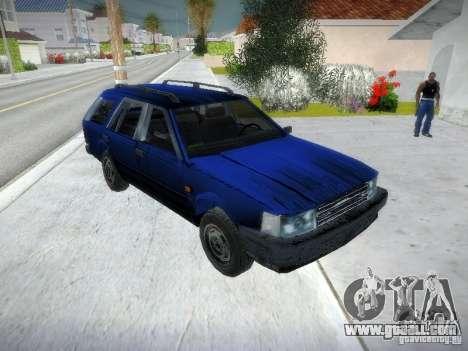 Nissan Bluebird Wagon for GTA San Andreas