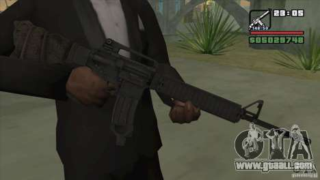 M16A4 from BF3 for GTA San Andreas