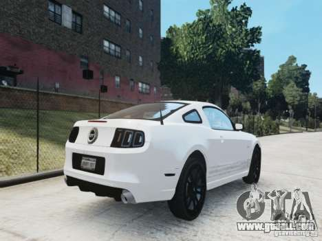 Ford Mustang GT 2013 for GTA 4 back view