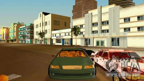 VOLVO V40 for GTA Vice City back view