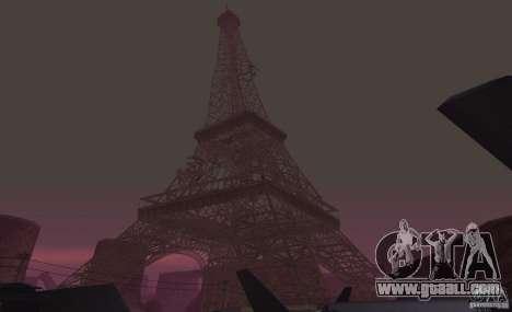 The Eiffel Tower from Call of Duty Modern Warfar for GTA San Andreas