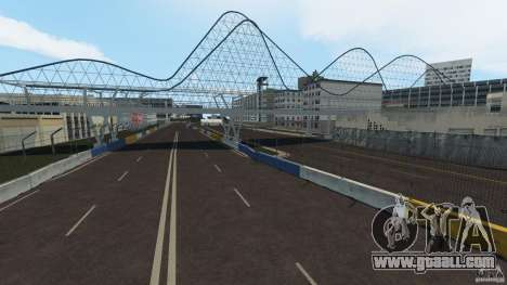 Long Beach Circuit [Beta] for GTA 4 fifth screenshot