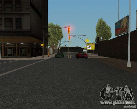 New road textures for GTA UNITED for GTA San Andreas