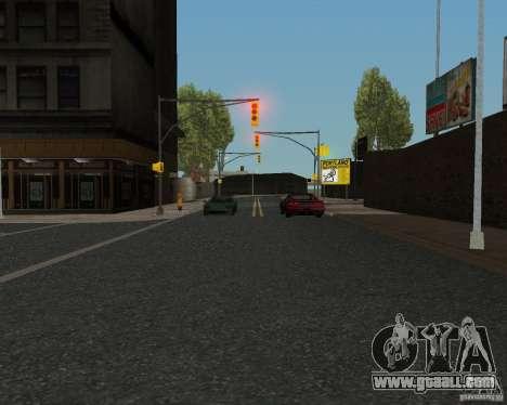 New road textures for GTA UNITED for GTA San Andreas sixth screenshot