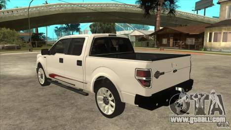 Ford F-150 Harley Davidson for GTA San Andreas back left view